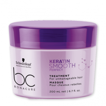 Schwarzkopf BC Keratin Smooth Perfect Máscara 200ml