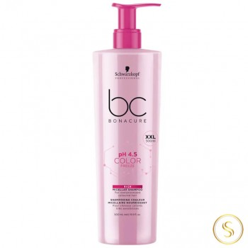 Schwarzkopf BC PH 4.5 Color Freeze Shampoo Enriquecido 500ml