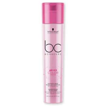 Schwarzkopf BC PH 4.5 Color Freeze Shampoo Sem Sulfatos 250ml