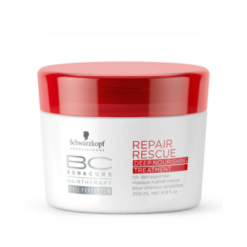 Schwarzkopf BC Repair Rescue Deep Máscara de Nutrição Intensiva 200ml