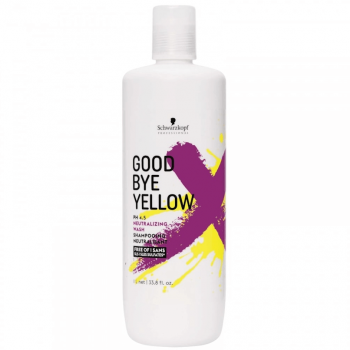 Schwarzkopf Shampoo GoodBye Yellow 1000ml
