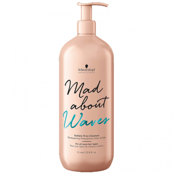 Schwarzkopf Shampoo Mad About Waves Sem Sulfatos 1000ml