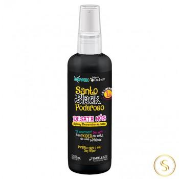 Spray Desembaraçante Novex Santo Black Poderoso 250ml