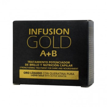 Tahe Infusion Gold A+B Brilho e Nutrição 2X10ml