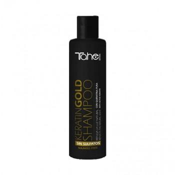 Tahe Keratin Gold Shampoo sem sulfatos 300ml