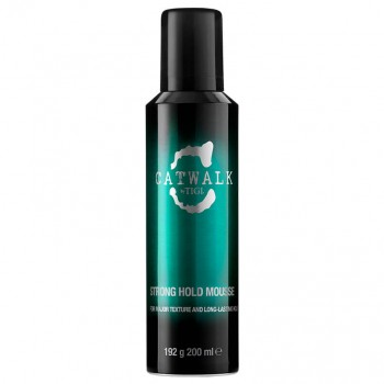 Tigi Catwalk Strong Hold Mousse 200ml