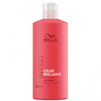 Wella Invigo Color Brilliance Shampoo Cabelo Fino/Normal 500ml