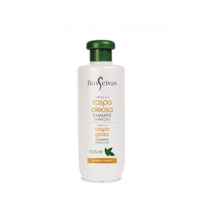 Bioseivas Shampoo Correção Caspa Oleosa 300ml