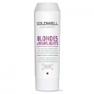 Goldwell Dualsenses Blondes & Highlights Anti-Yellow Condicionador 200ml