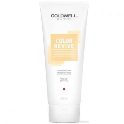 Goldwell Dualsenses Color Revive Condicionador Light Warm Blonde 200ml