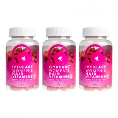 Gomas IvyBears Hair Vitamins For Women 3 Meses