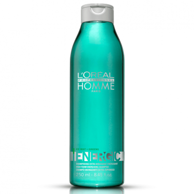 Loreal Homme Shampoo Energic Cabelos Normais 250ml