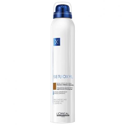 Loreal Serioxyl Spray Volumizante de Cor (Castanho Claro) 200ml