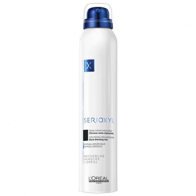 Loreal Serioxyl Spray Volumizante de Cor (Preto) 200ml