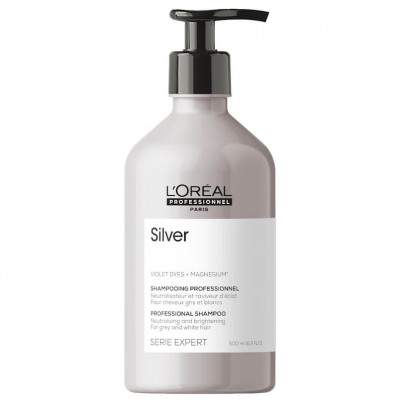 Loreal Shampoo Silver 500ml
