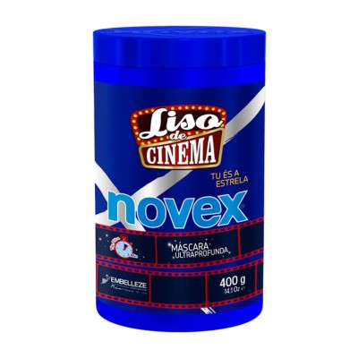 Máscara Novex Liso de Cinema 400ml