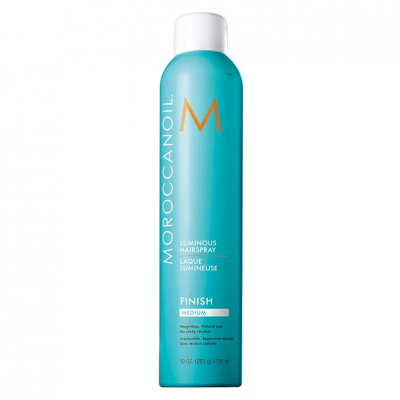 Moroccanoil Spray Fixador Luminoso Médio 330ml