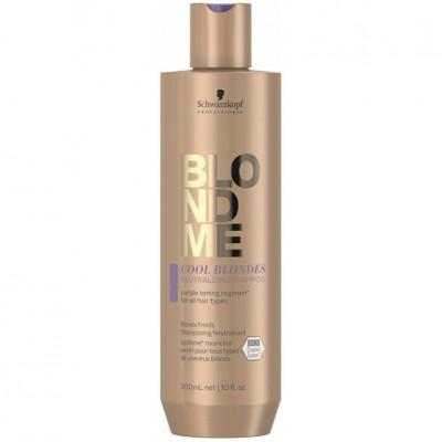 Schwarzkopf Blondme Cool Blondes Shampoo 300ml