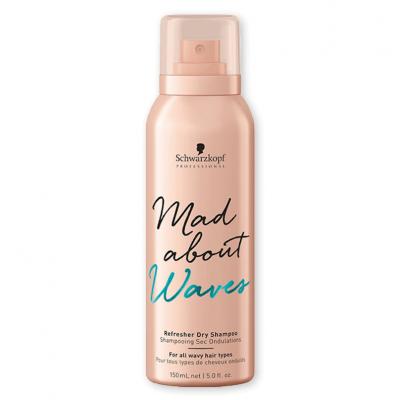 Schwarzkopf Mad About Waves Shampoo Seco Refrescante 150ml
