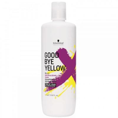 Schwarzkopf Shampoo GoodBye Yellow 1000ml