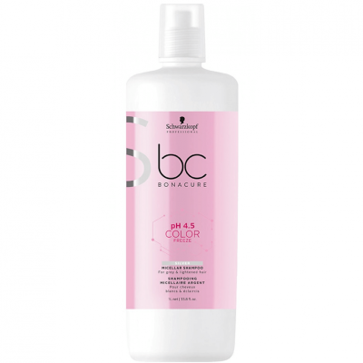 Shampoo Schwarzkopf Color Freeze Silver pH 4.5 1000ml
