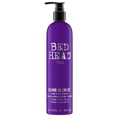 Tigi Dumb Blonde Purple Toning Shampoo 400ml