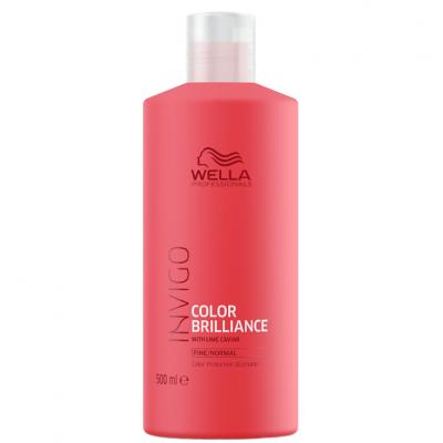 Wella Invigo Color Brilliance Shampoo Cabelo Fino/Normal 500ml