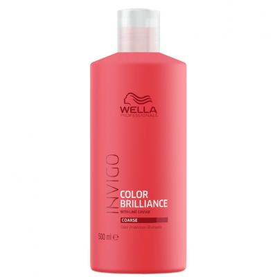 Wella Invigo Color Brilliance Shampoo Cabelo Grosso 500ml