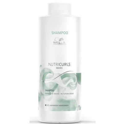 Wella Shampoo Nutricurls Waves 1000ml