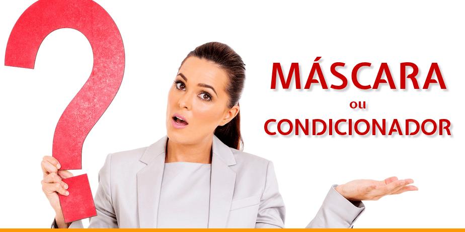 Diferença entre condicionador e máscara